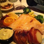 The halibut platter