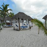 Beach cabana's must reserve