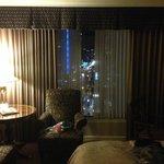 Window in kingsize room