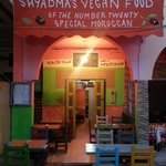 Shyadma's Vegetarian/Vegan Restaurant entrance