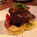 Beef steak with Foie gras