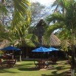 Dining area at Bahia del Sol