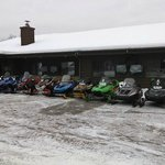 The other guests were mostly snowmobilers. Great bunch