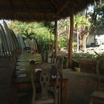 Dining & surf board options