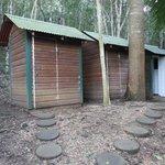 Flush Toilet Outhouses
