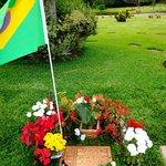 Senna's grave