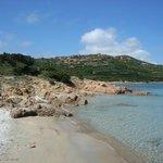 Spiaggia da sogno con fondale basso ideale anche per i bambini