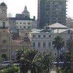 Fotos da varanda do Hostel Plaza de Armas