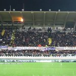 Crowd at the match (versus Roma)