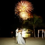 Beautiful Fireworks displays for your wedding