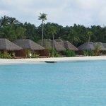 zugebauter Strand mit neuen Villen
