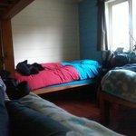 Quarto misto com até 4 camas