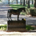 Seattle Slew's Grave Marker