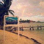 Fleeting rainbow