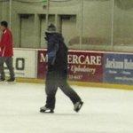 Ice skating at Snow King.