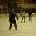 Ice rink fun!