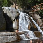 Wasserfall am Ende des Touw River