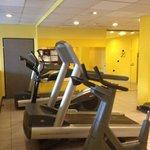 Fitnessaum mit Cardiogeräten