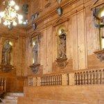 Teatro Anatomico -Wandvertäfelung u. Skulpturen