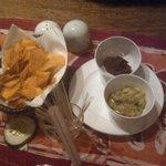 potato chips n sauce