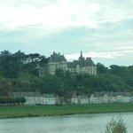 Château de Chaumont-sur-Loire from Loire River