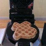 Texas-shaped waffles!