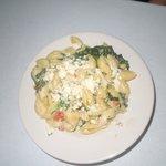 Pasta with gorgonzola - yummy!