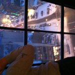 Bowery Street Snowy View