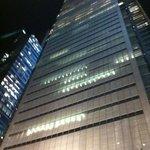 la sede del New York Times... vicinissima all'hotel