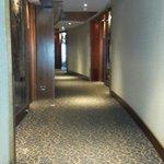 Vista pasillo desde hall de ascensores