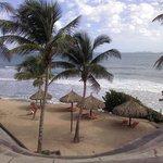 Una vista de Playa Cardon