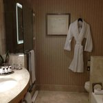our suite bathroom- SO luxurious