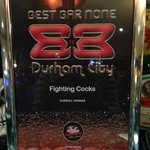 Best Bar None pub category and overall winner 2013