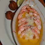 Shrimp Scampi - very good too.