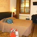 la camera intima ed ampia