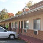 Nicely kept motel