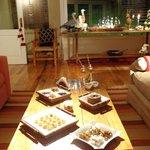 Mesa de doces para o fim de ano