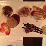Dessert suculant