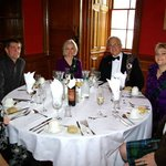 We had a wonderful meal in one of the dining rooms