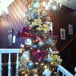 Tea Room Christmas Tree with Tea Cups and Cookies decorations