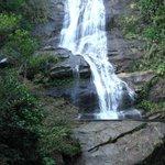 Waterfall near the main entrance