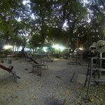 lumpini park outdoor gym