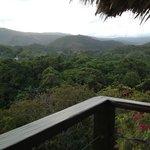 Mountain range view from Balcony