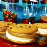 Chocolate Chip Cookie Ice Cream Sandwiches Gluten Free
