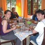 Dinning together at Ripplesnrocks