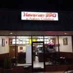 Hawaiian BBQ storefront