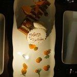 Complementary birthday desert - thanks.