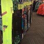Snowboard retail