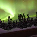 Aurora display December 29, 2013