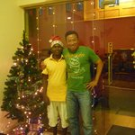 Staff and me